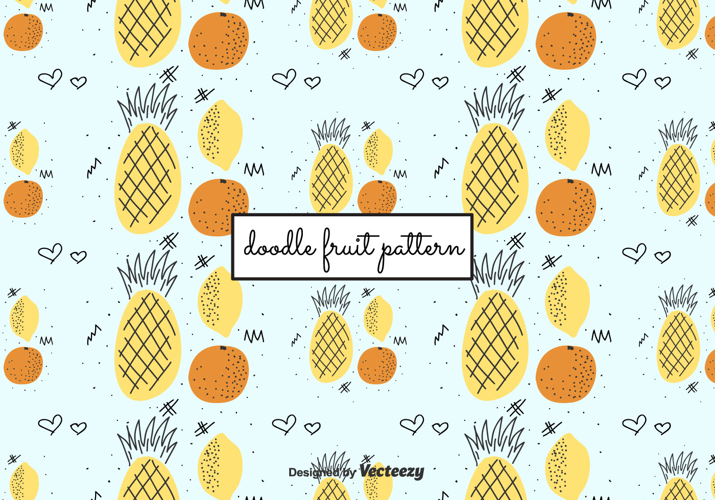 Wallpaper Strawberry Cute Doodle Fruit Pattern Download Free Vectors Clipart