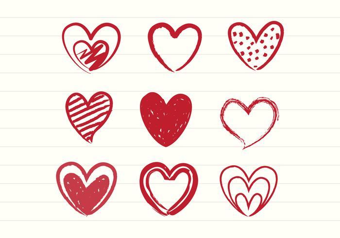 hearts free vector art