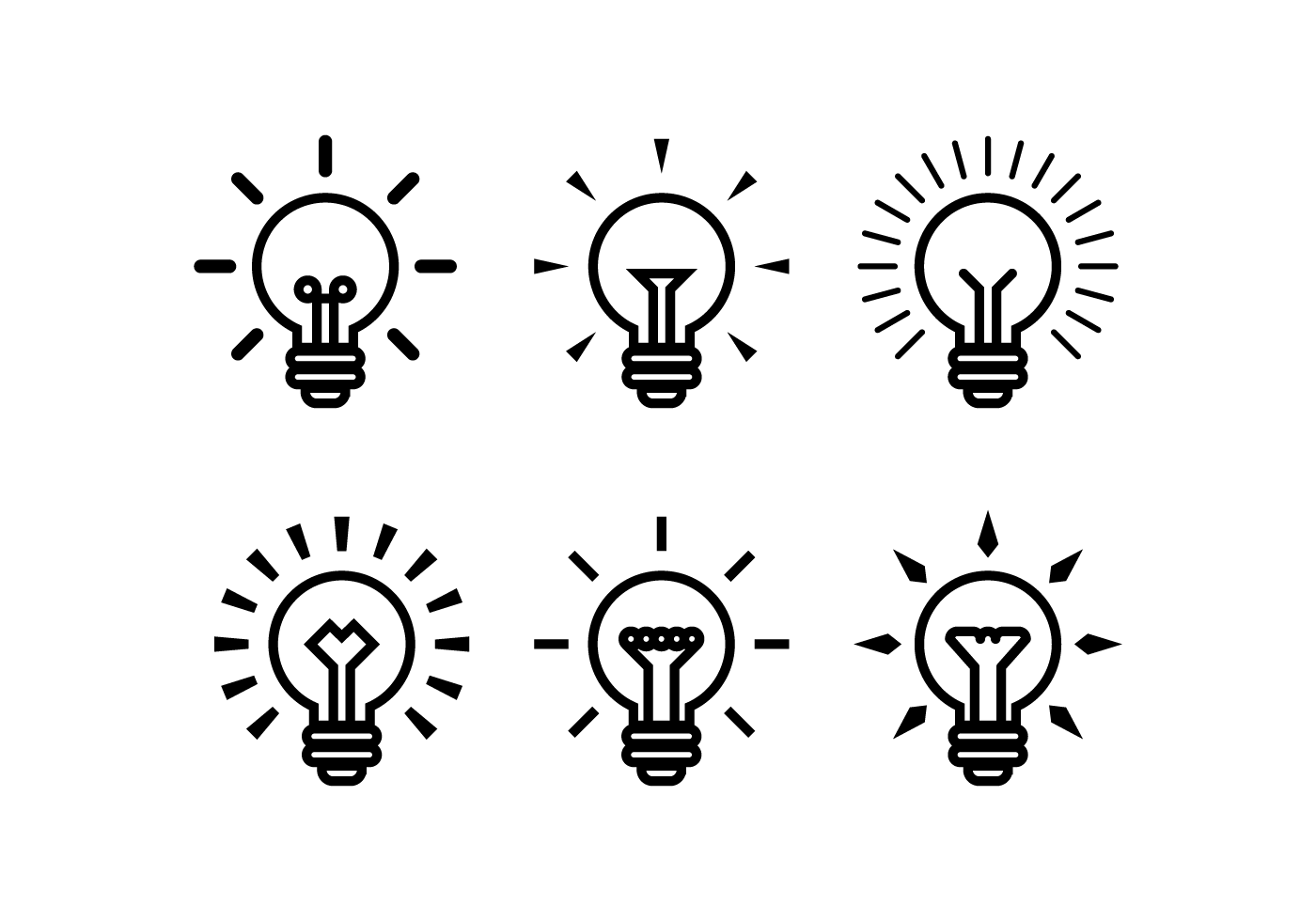 Bulb Free Vector Art