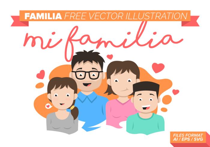 Download Familia Vector Illustration - Download Free Vectors ...