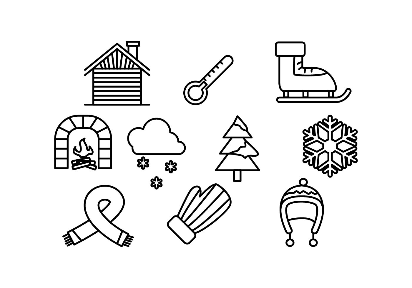 Free Winter Vector Pack