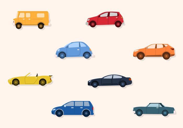flat car vectors download