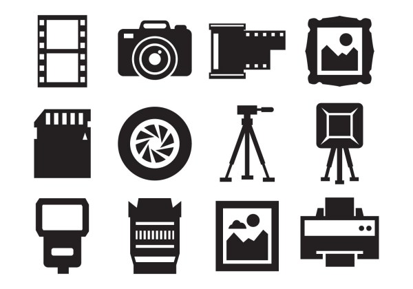 Camera Free Vector Art 19858 Free Downloads