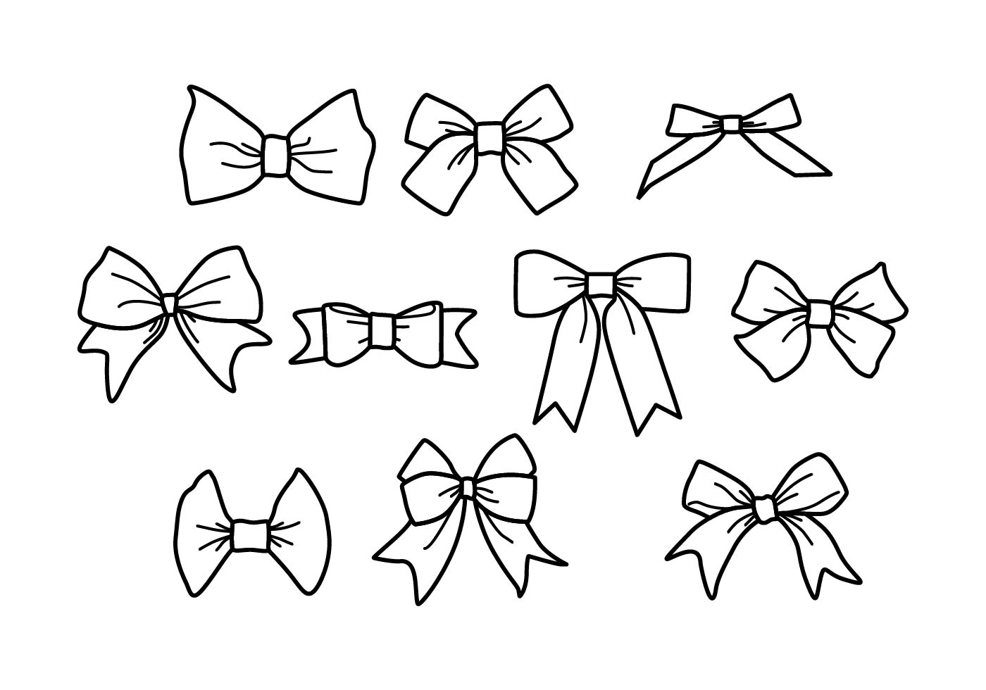 Bow Free Vector Art