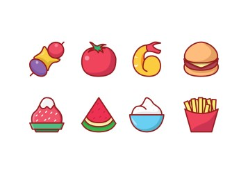 Icon Meal Vector