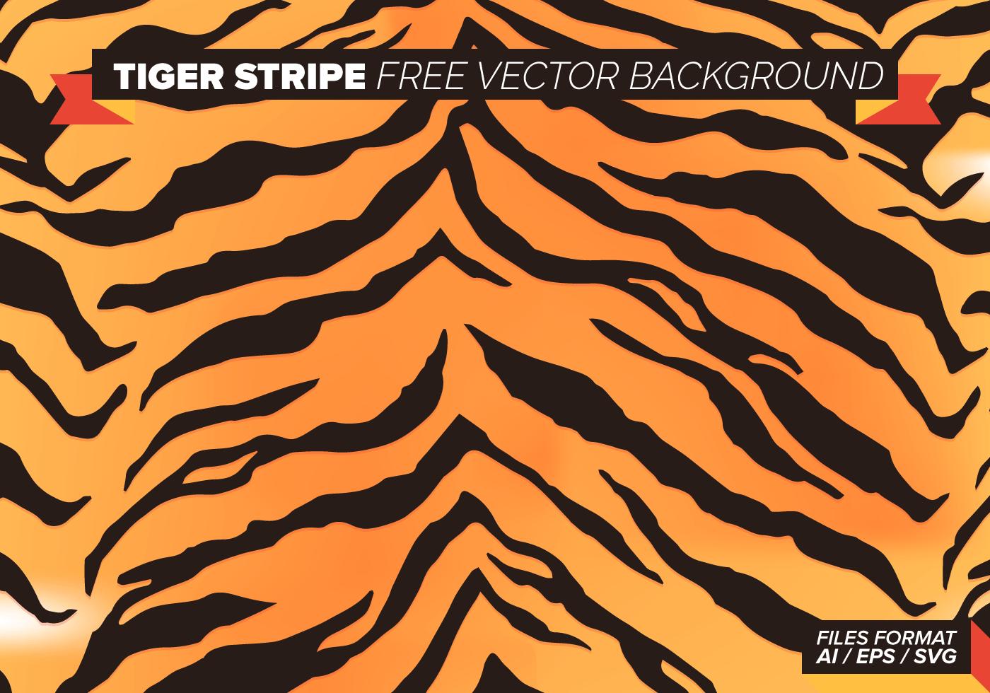 Tiger Stripe Free Vector Background