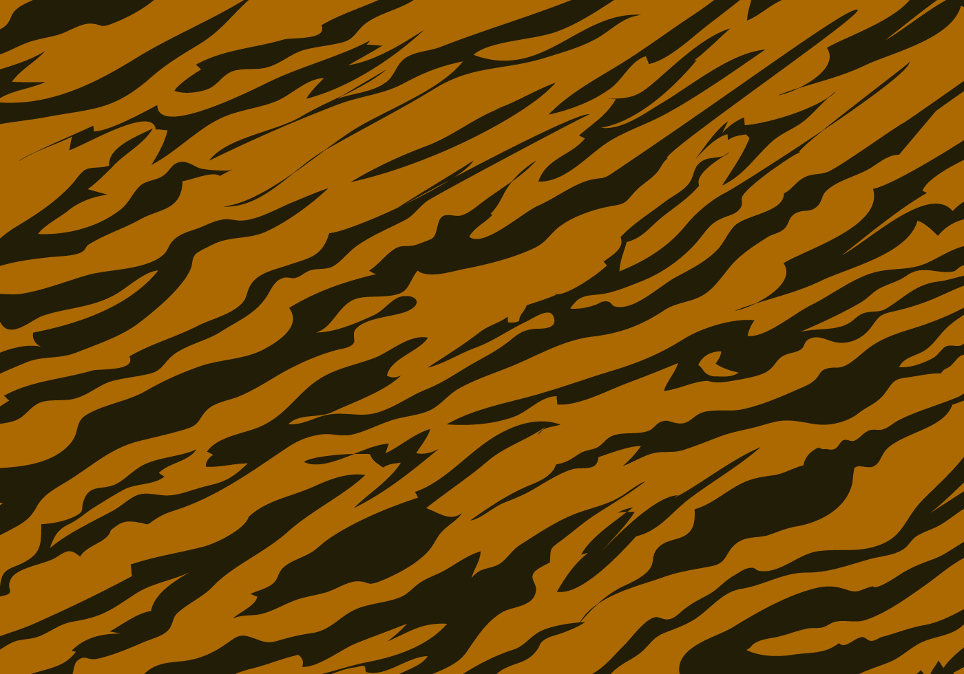 Tiger Stripe Pattern Background
