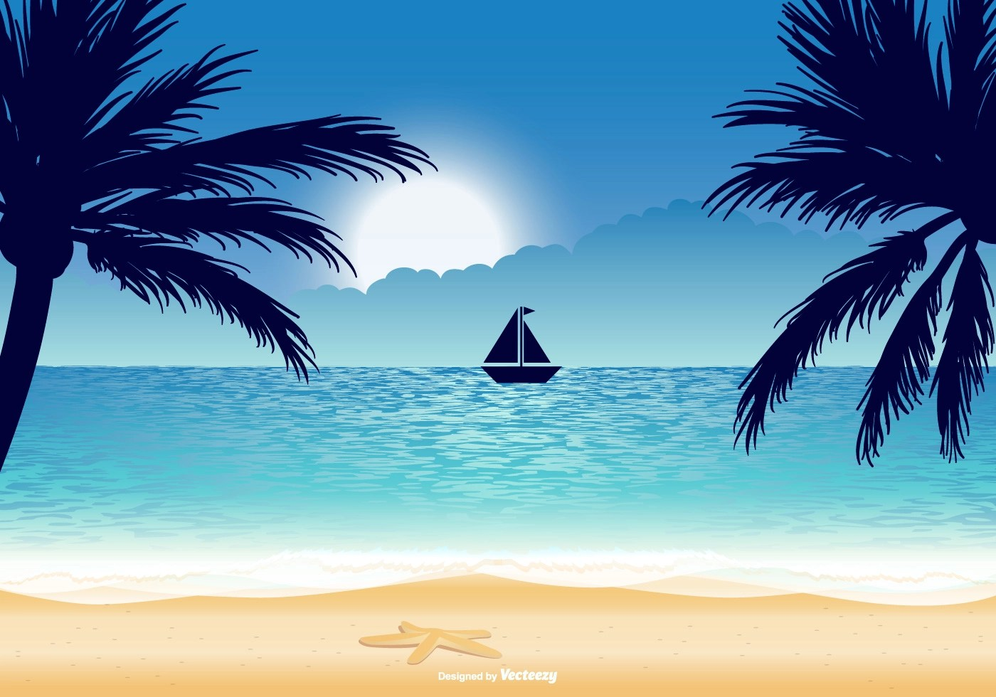 flip flop chair office carpet protector uk beautiful beach illustration - download free vector art, stock graphics & images