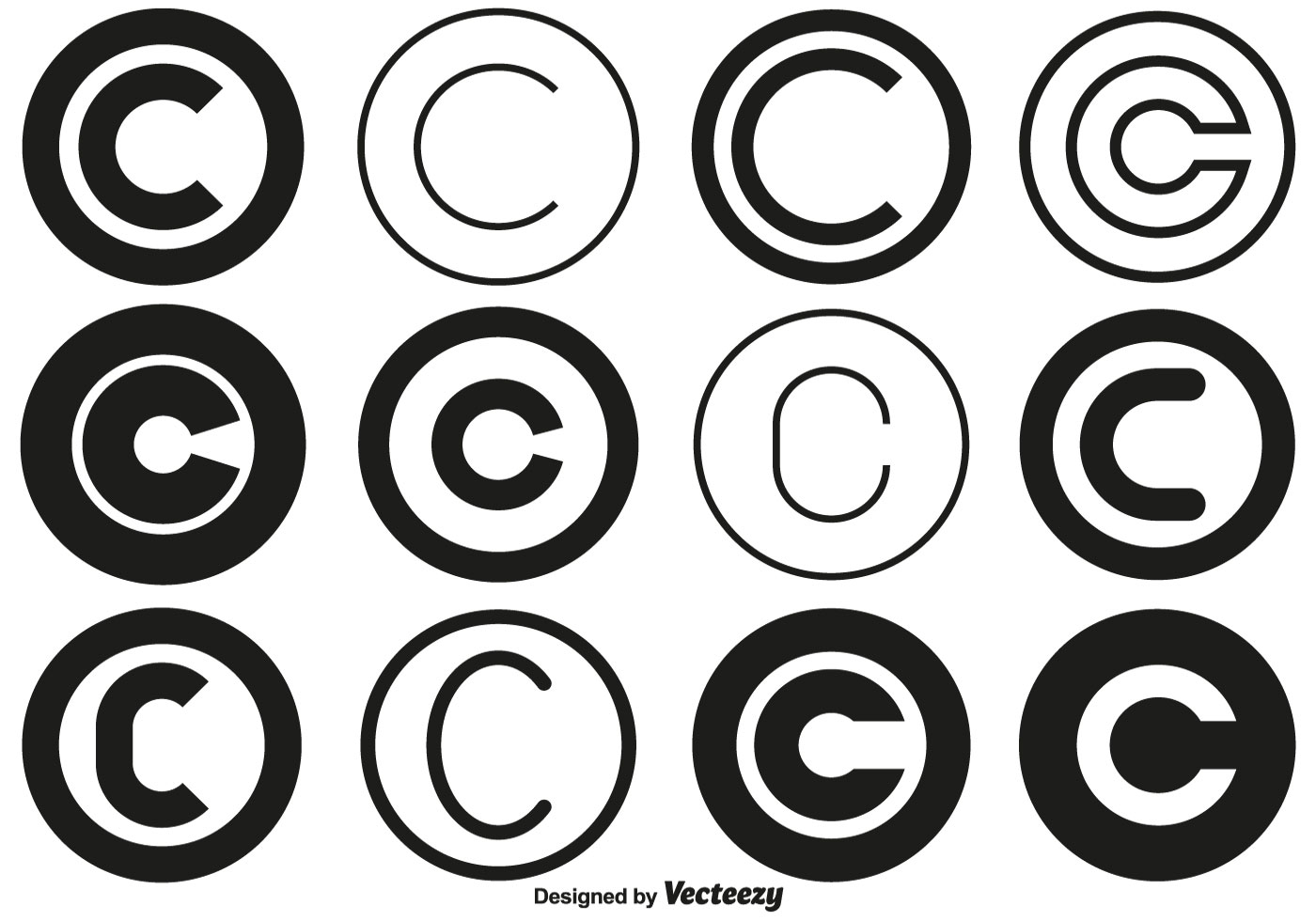 Vector Copyright Symbol Collection