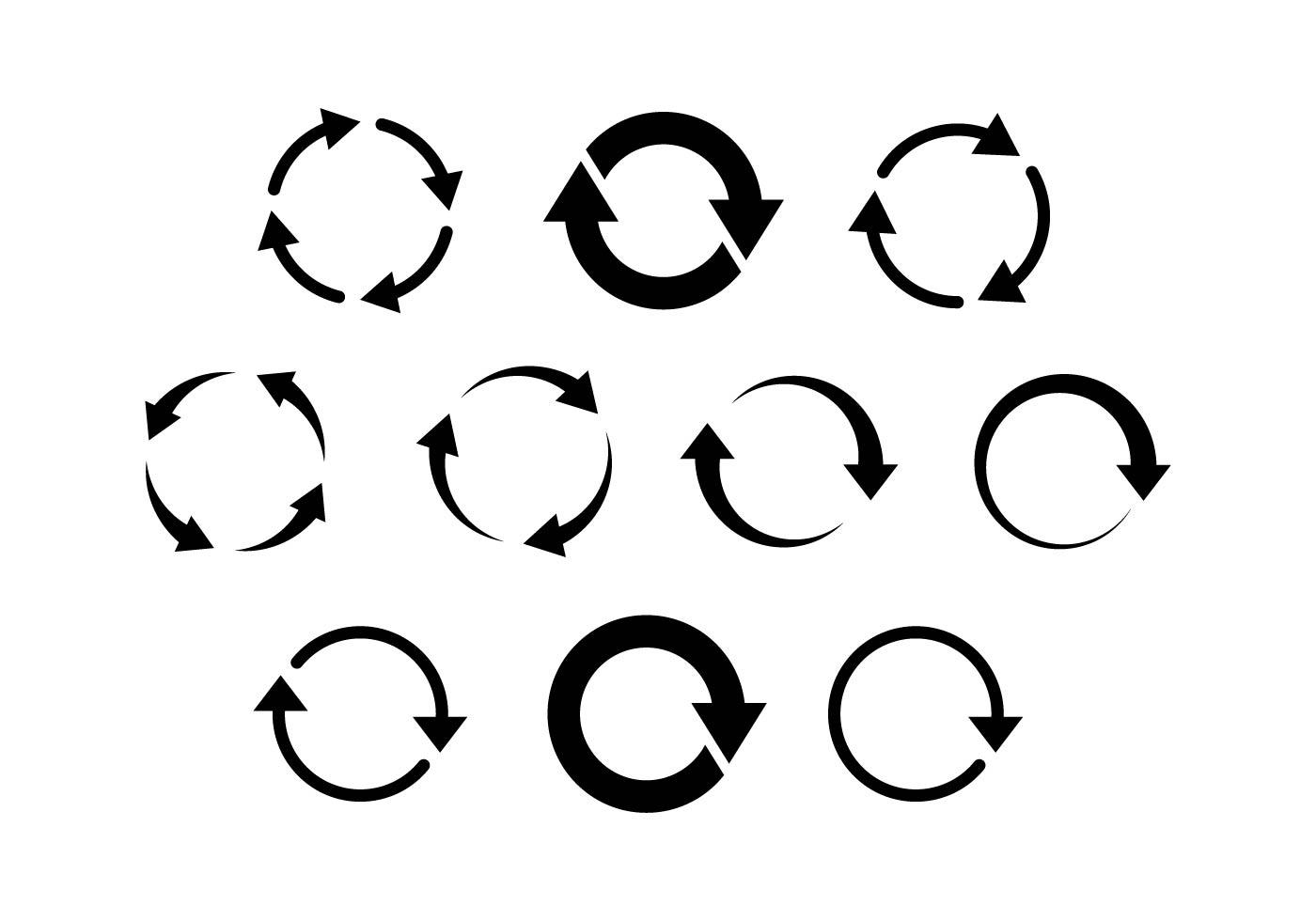 Flat Icon Arrow Vector