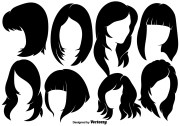 beautiful woman with hairstyles