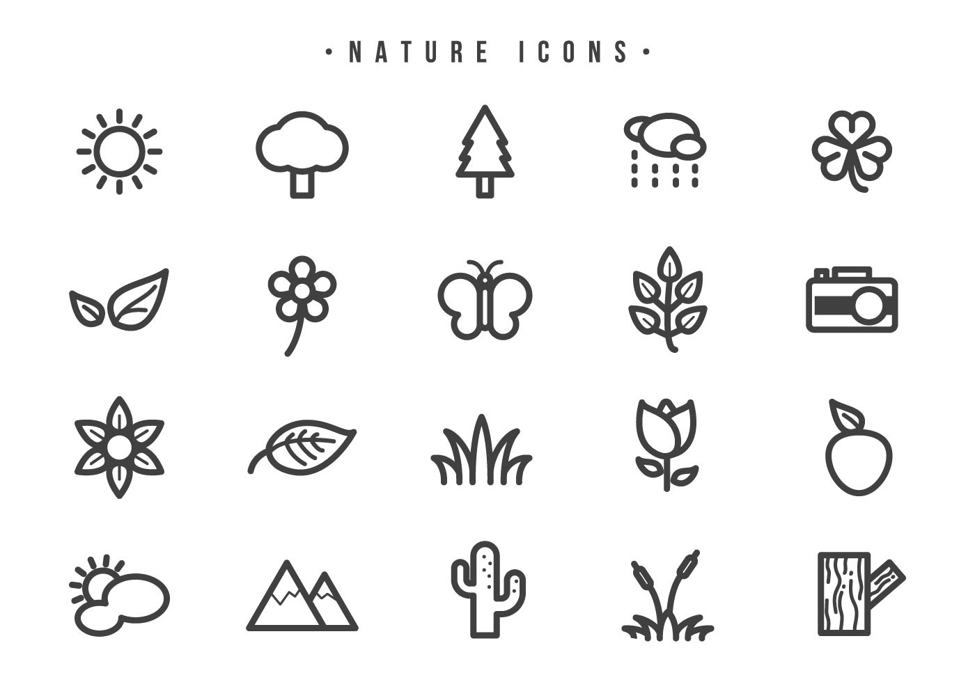 Free Nature Vectors