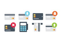 Credit Card Icon Pack - Free Vector Art Stock