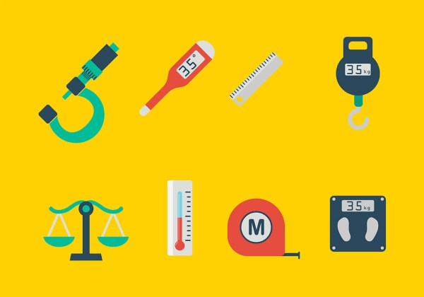 Measuring Tools Icons Vector - Free Art