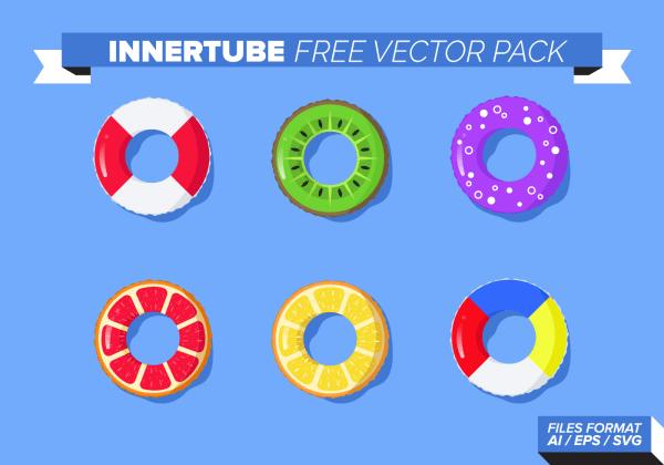 Innertube Free Vector Pack - Art