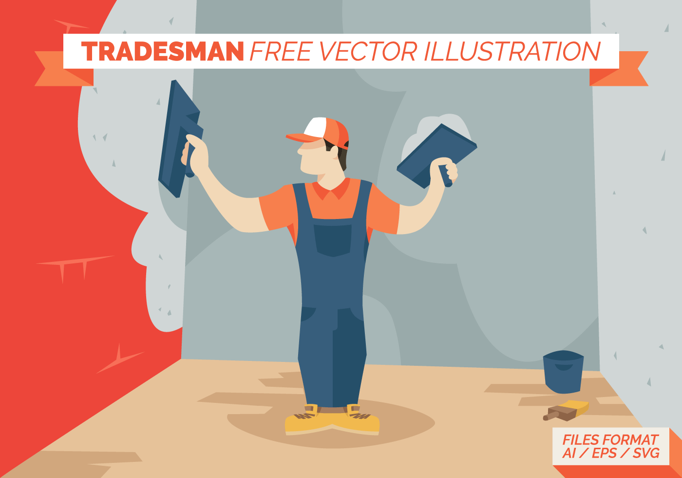 Tradesman Free Vector Illustration  Download Free Vector