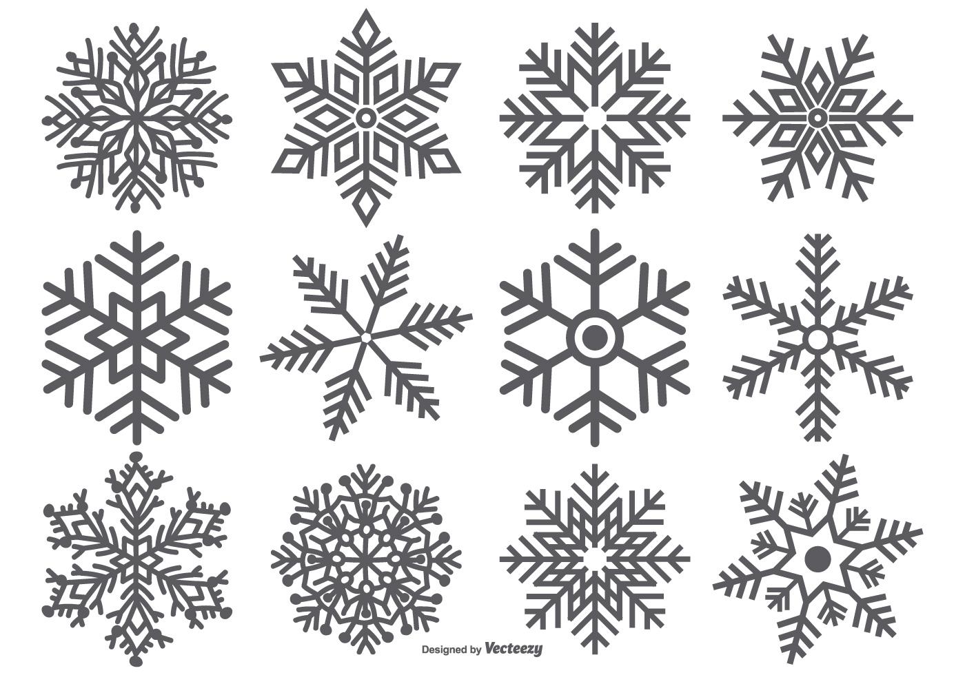 Snowflake Free Vector Art