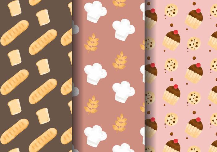 Cute Dessert Wallpaper Free Cute Bakery Patterns Download Free Vector Art