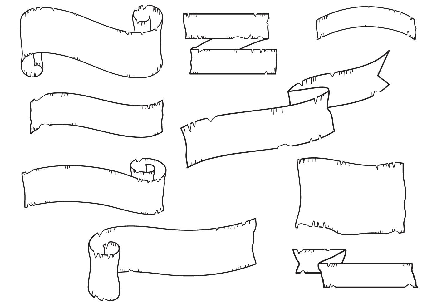Scroll Free Vector Art