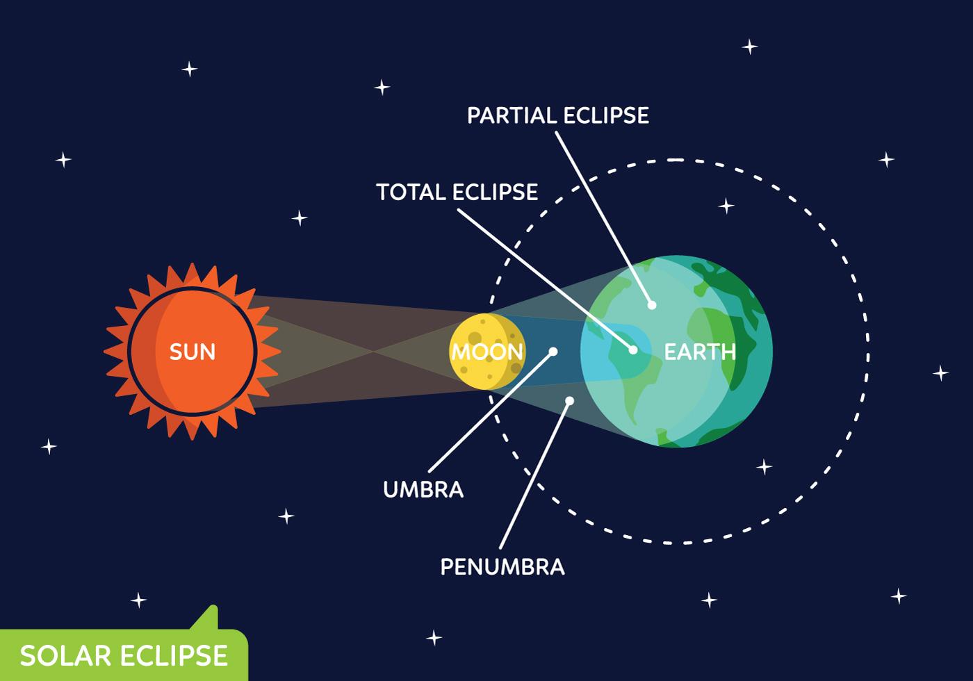 Sun Phase Vector Set