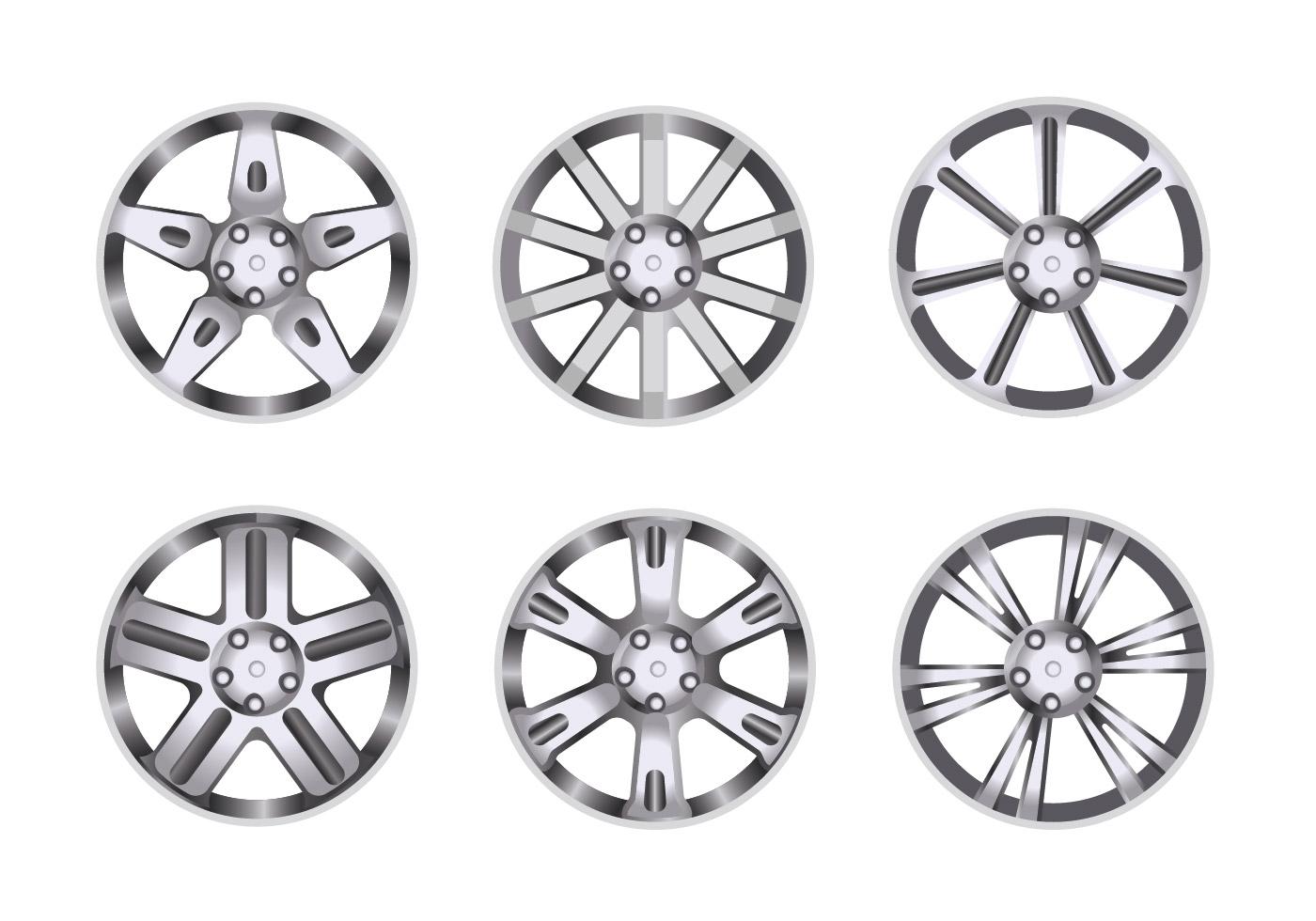 Car Alloy Wheel Set
