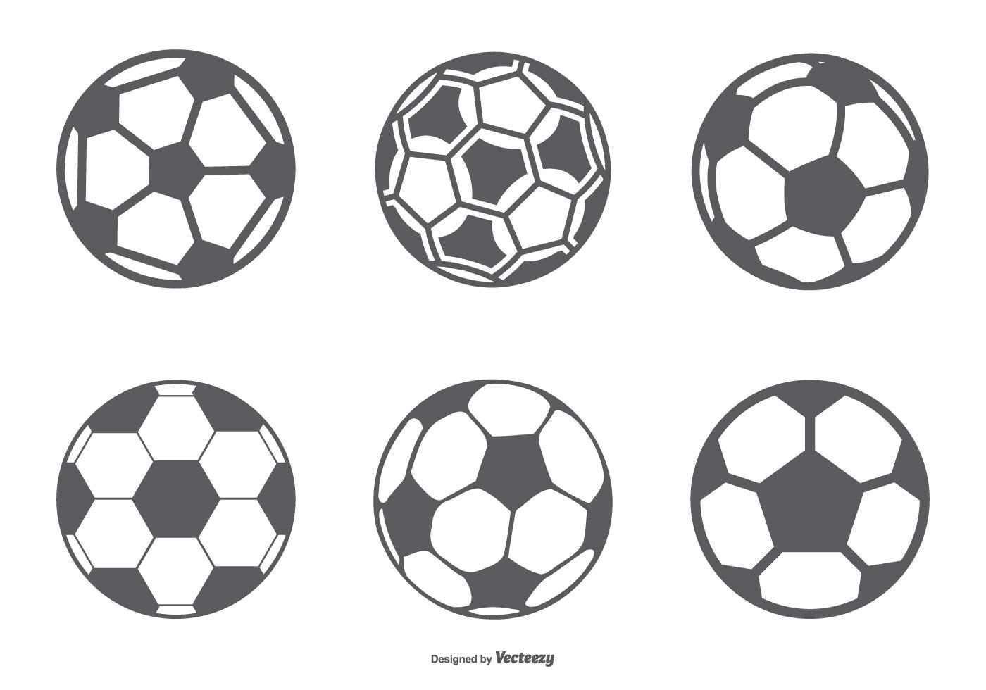 Soccer Ball Free Vector Art
