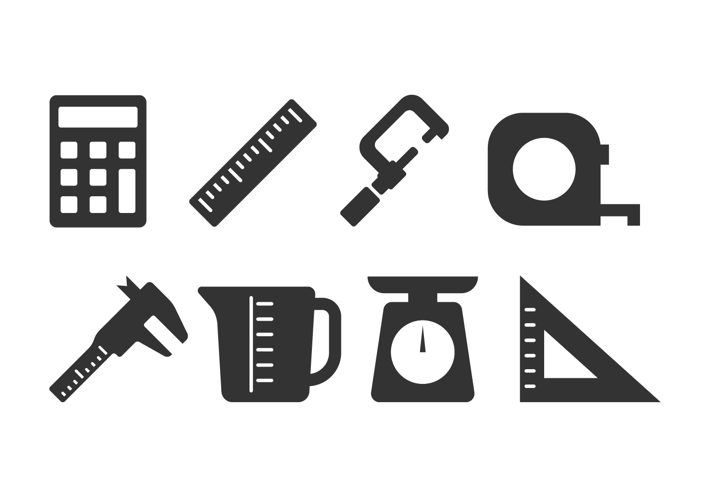 Measuring Icon Set