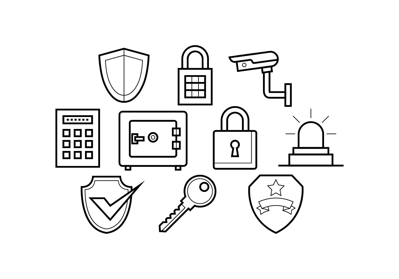 Security Free Vector Art