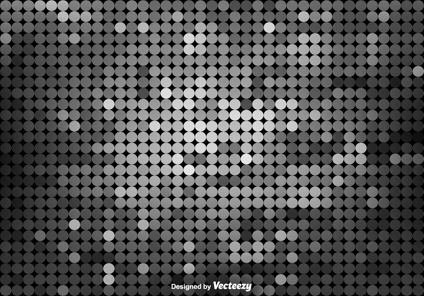 Abstract Vector Grey Dotted Pattern Download Free Vector