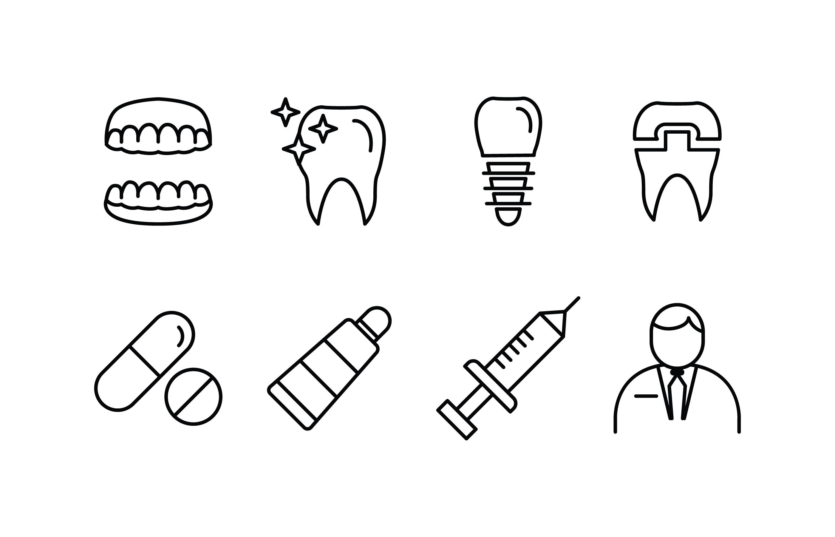 Dentist Icon Free Vector Art