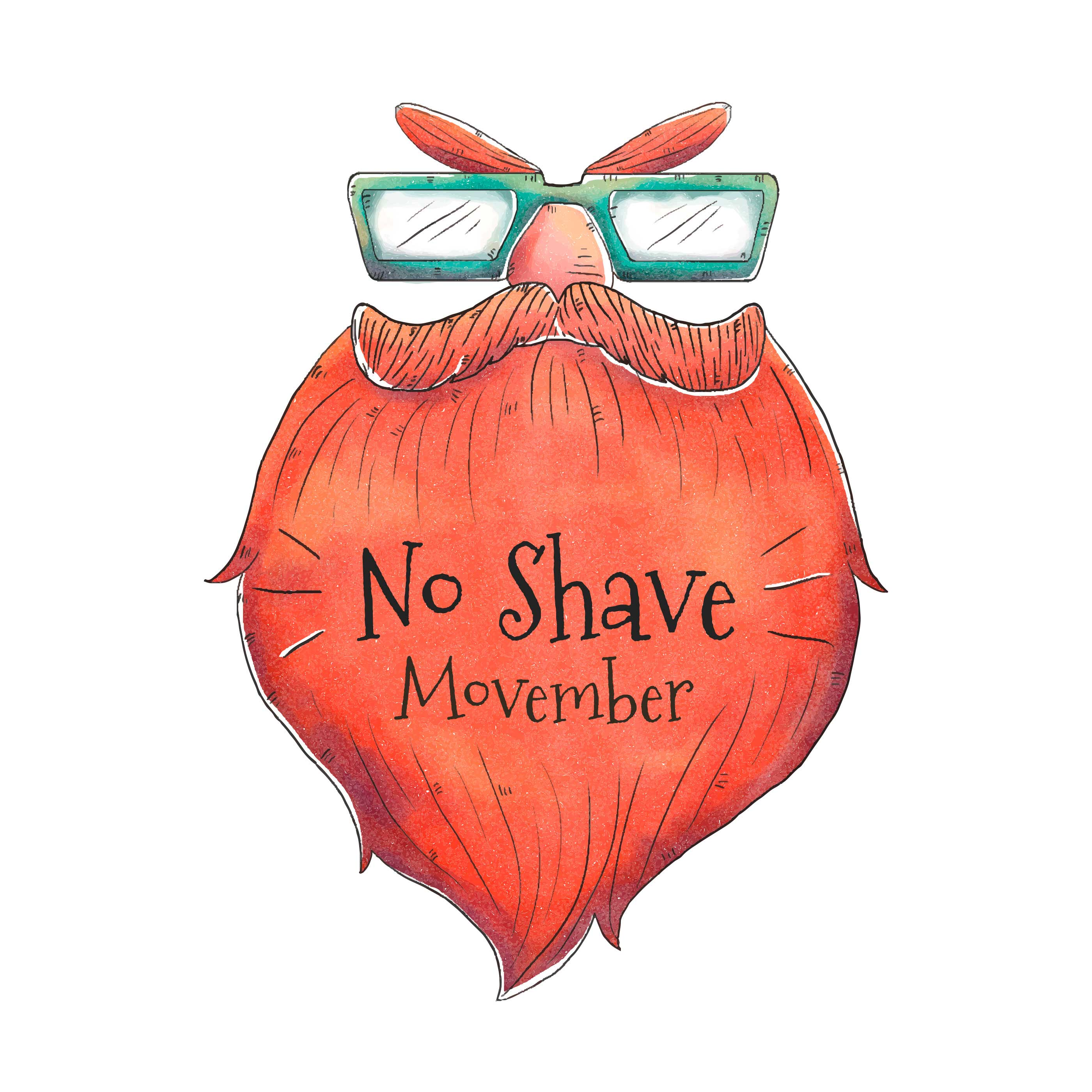 Mustache Beard For Movember Day Vector Download Free