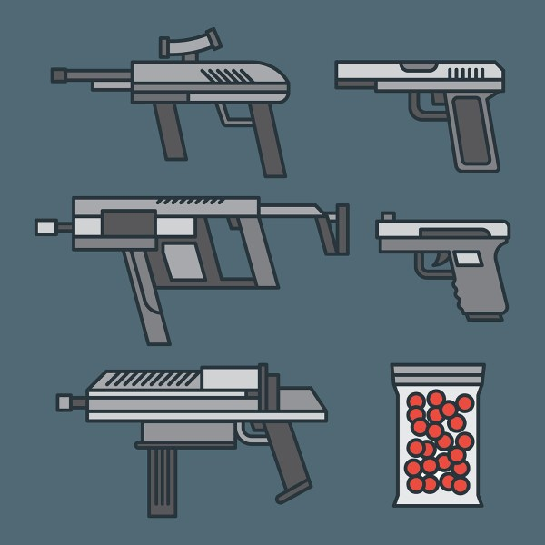 Airsoft Vector Icons - Free Art Stock
