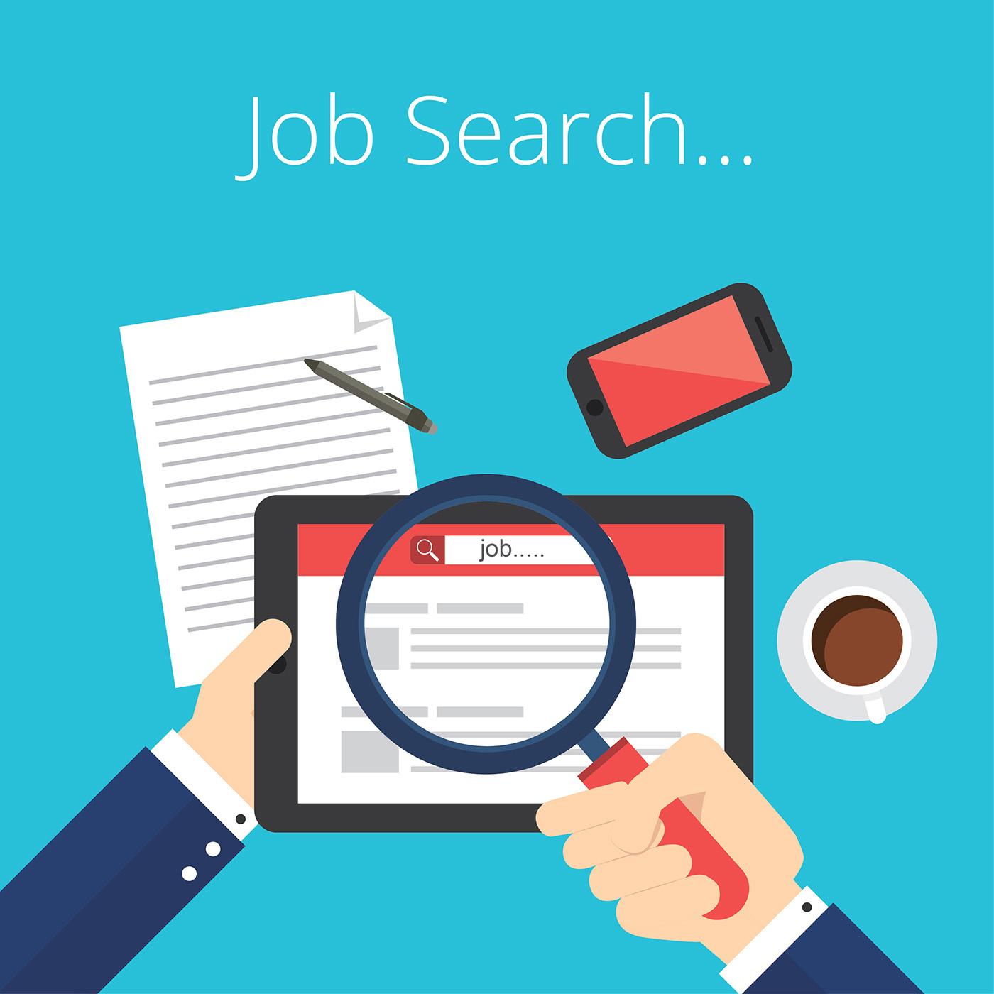 resume job search icon