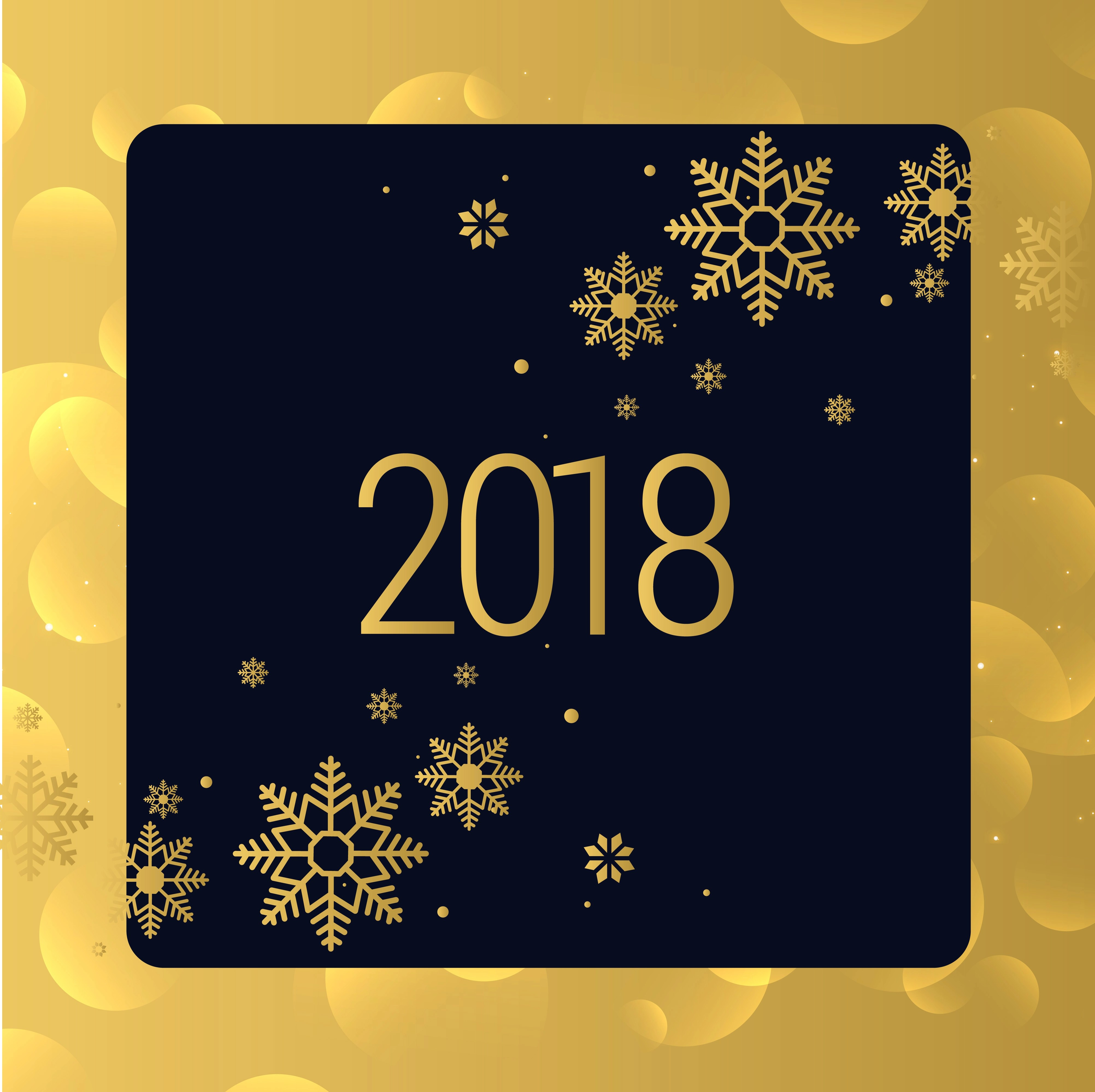 Falling Gold Sparkles Wallpaper Luxury Golden 2018 New Year Background Design Download