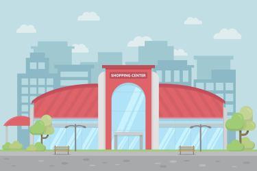 shopping center vector vectors graphics illustration clipart supermarket cake vecteezy