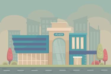 shopping vector center edit clipart