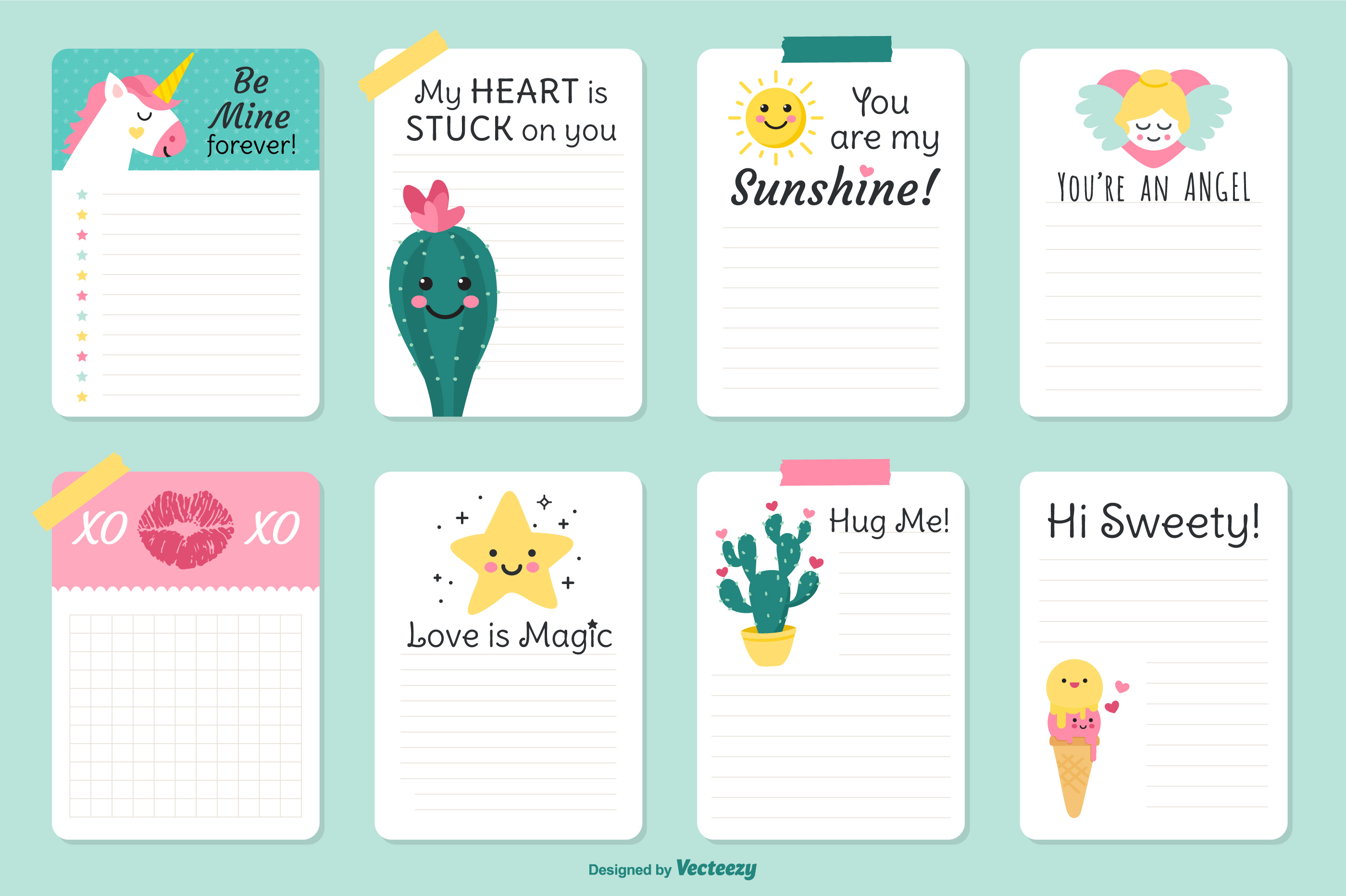 graphic regarding Cute Printable Notebook Paper named Lovely Printable Laptop computer Paper Totally free Obtain - Resume