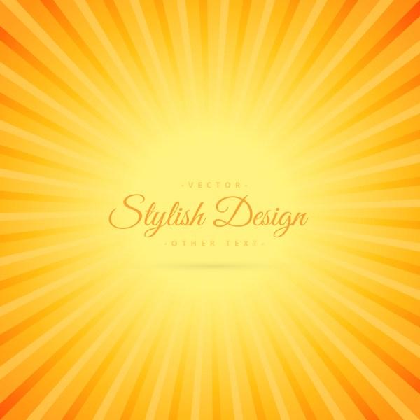 Orange Color Background With Transparent Line Effect