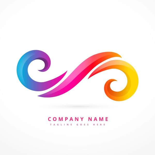 Vector Abstract Swirl Logo