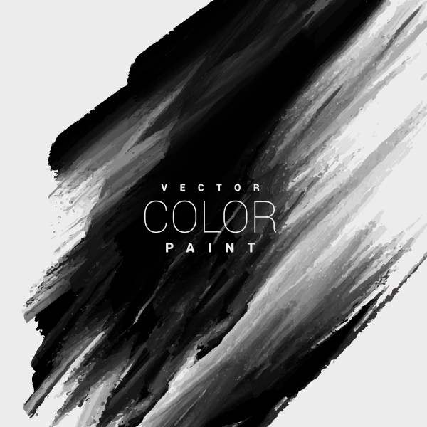 Black Color Paint Stain Background Design - Free