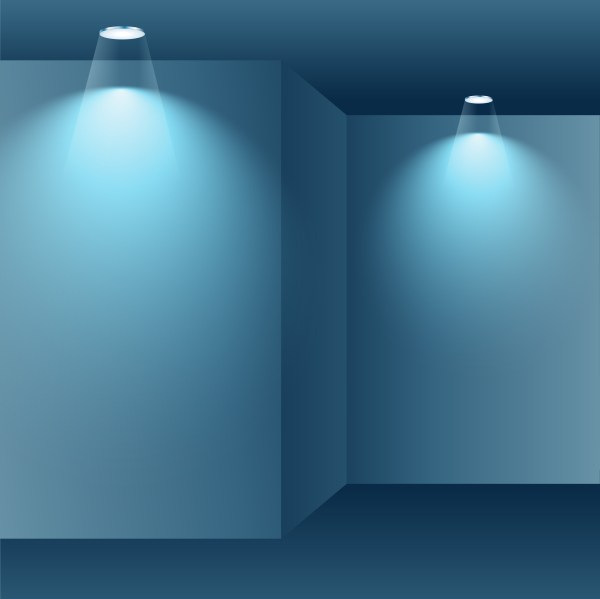 Interior Empty Room - Free Vector Art Stock