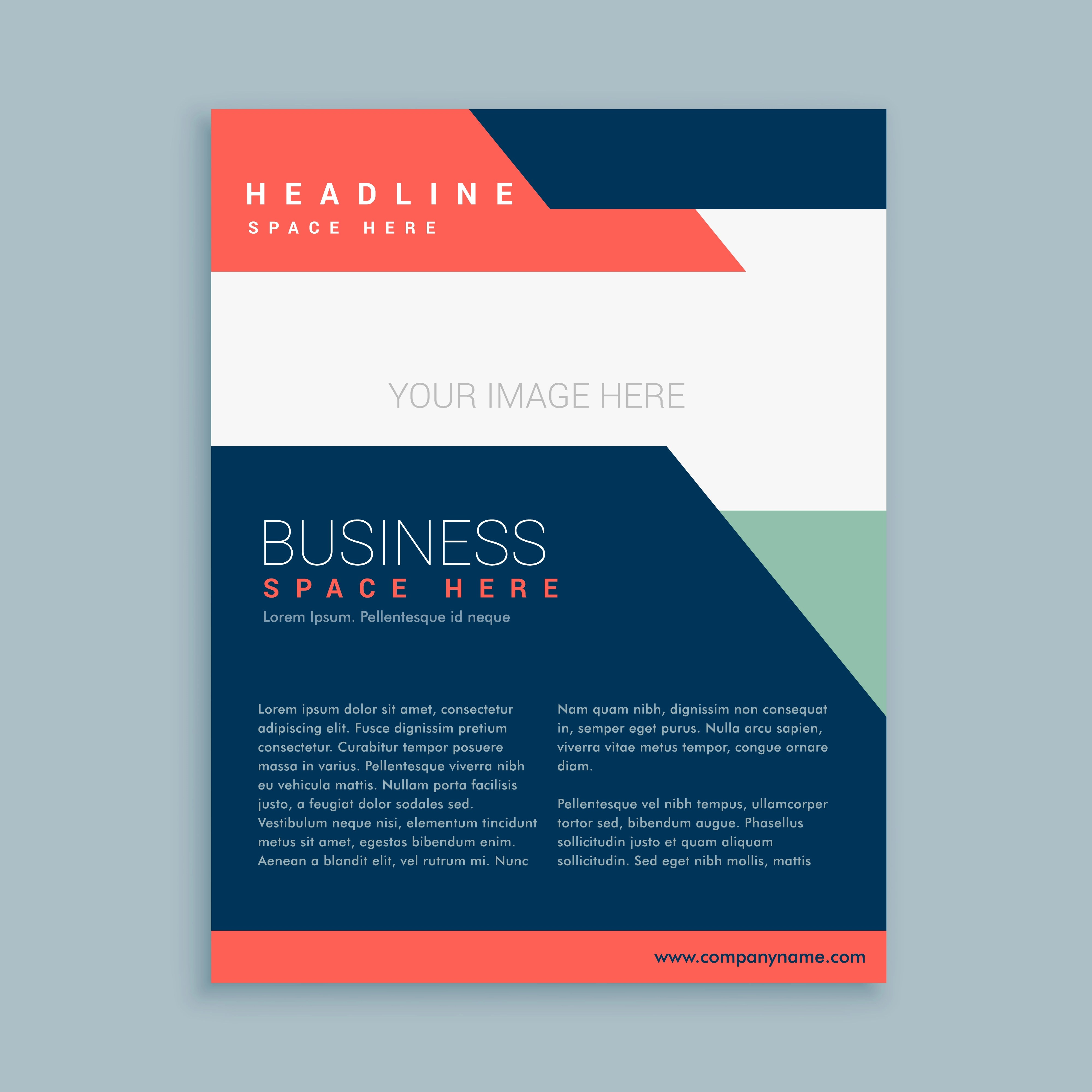 abstract business brochure template design  Download Free Vector Art Stock Graphics  Images