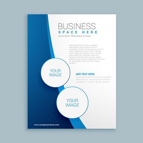 company brochure template design  Download Free Vector
