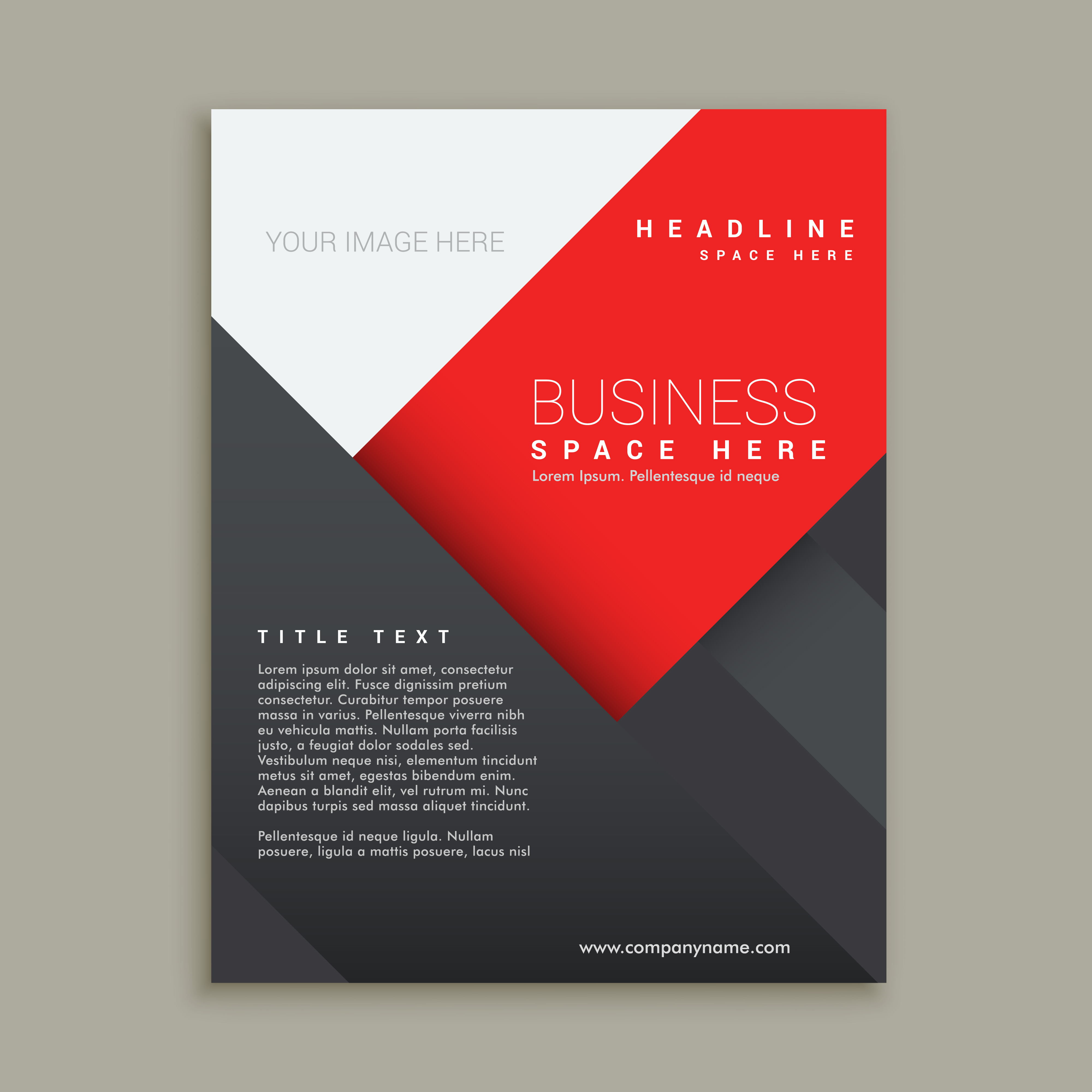 minimal business brochure template design  Download Free Vector Art Stock Graphics  Images