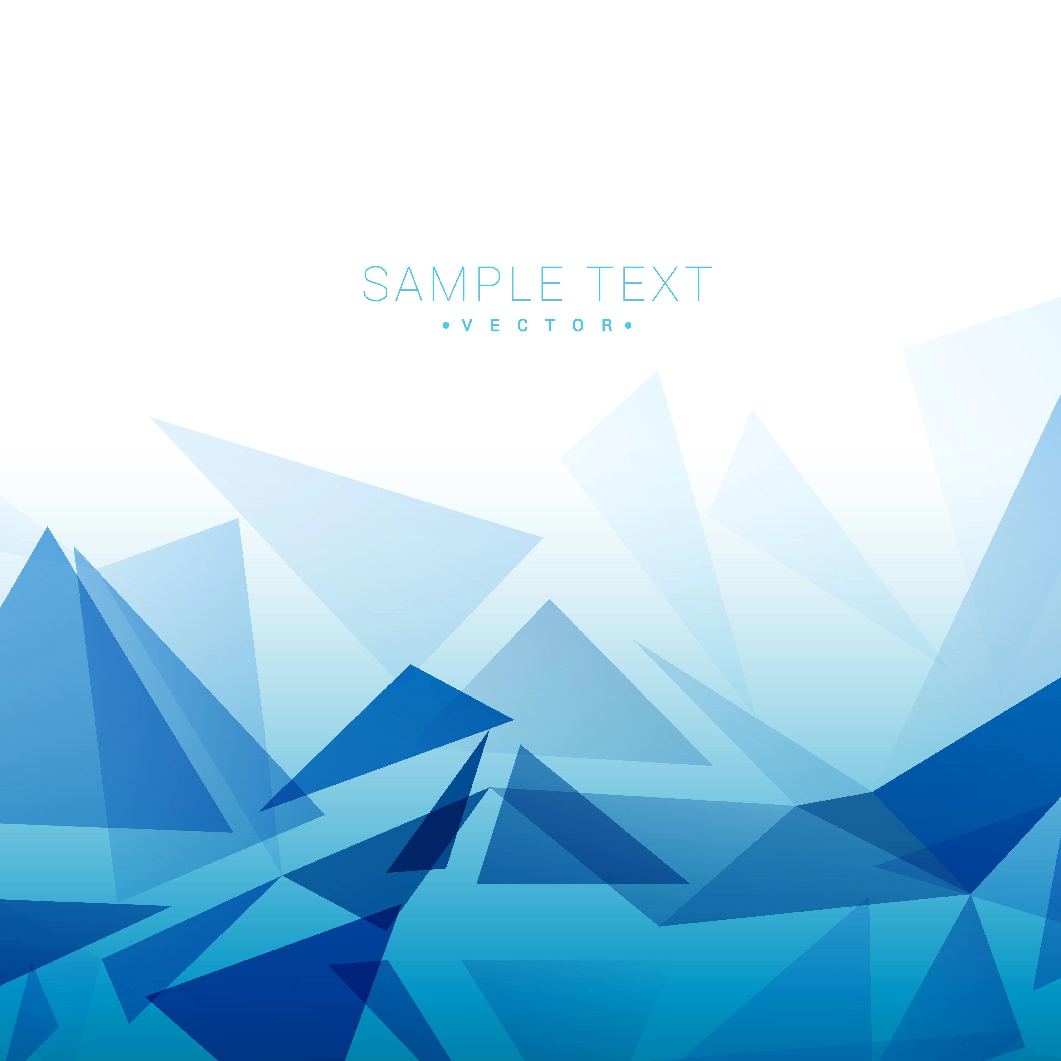 triangle shapes background  Download Free Vector Art