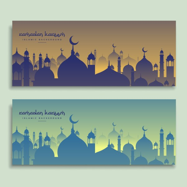 Ramadan Banner Vector