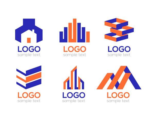 Building Construction Company Vector Logo