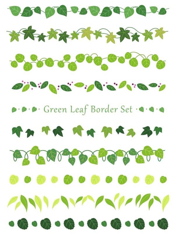 Leaf Border Free Vector Art 10821 Free Downloads