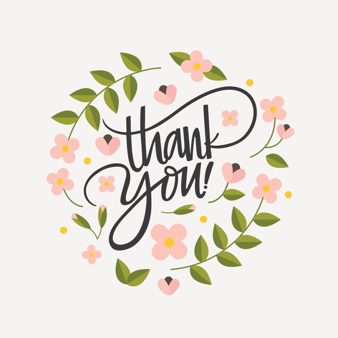 Download Hand Lettering Thank You Vector - Download Free Vectors ...