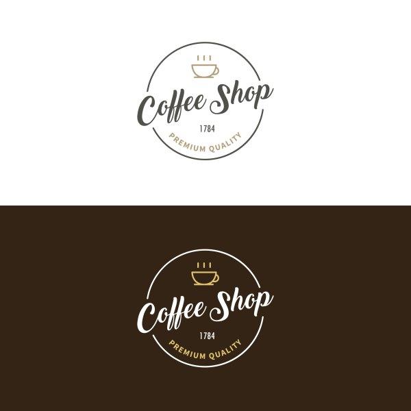 Coffee Logo Vector - Free Vectors Clipart